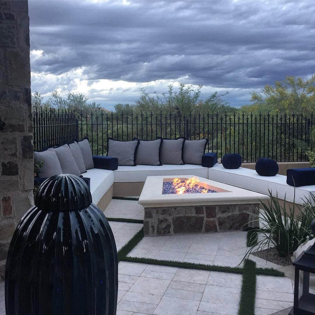 Outdoor Living Spaces: Add a Fire Source
