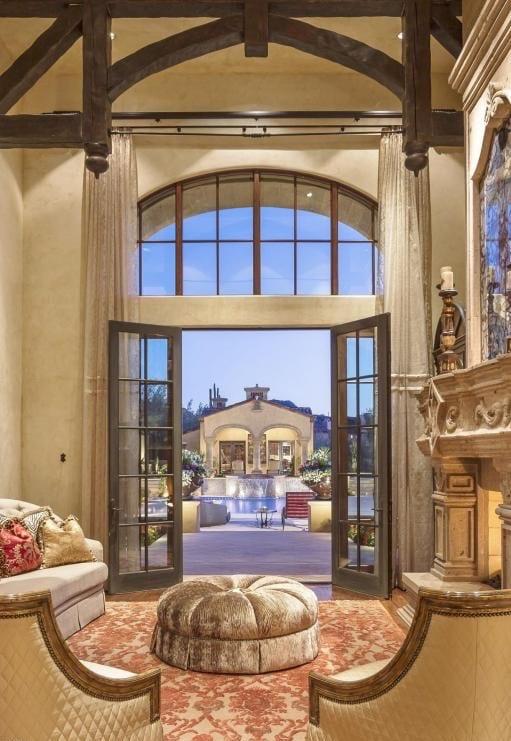 32 Mediterranean Luxury Home living room
