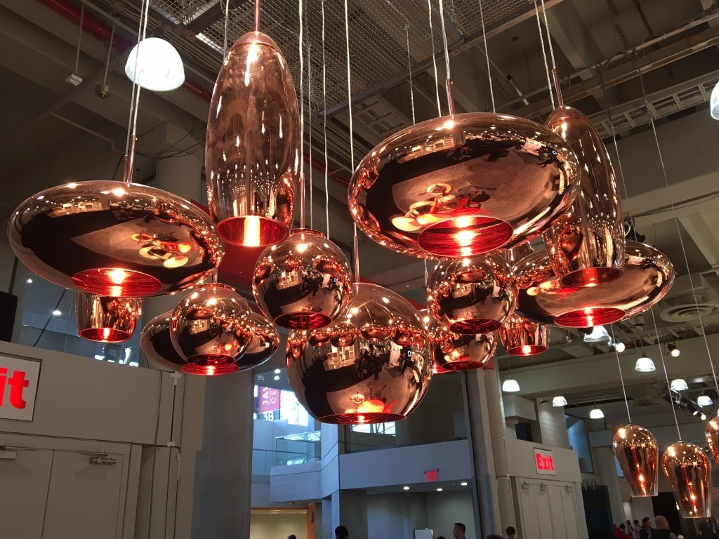 custom copper light system
